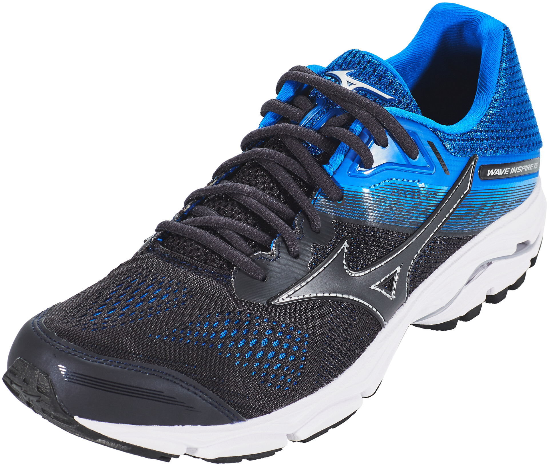 blue 15 Wave blue Inspire graphiteblue Running Shoes Mizuno graphitesnorkel Men byfg67